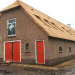 Woning met rieten kap - Woningbouw